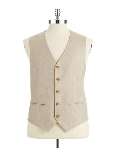 PERRY ELLISTextured Vest