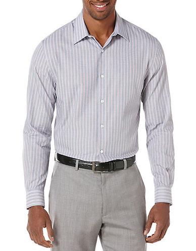 PERRY ELLISEnd-On-End Stripe Sport Shirt