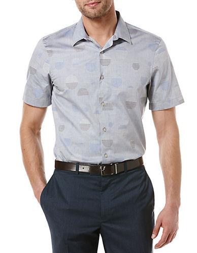 PERRY ELLISSlim Fit Dobby Dot Sport Shirt