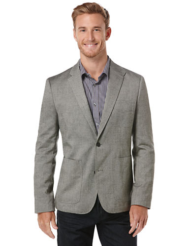 PERRY ELLIS Herringbone Sport Coat