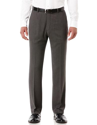 PERRY ELLISTravel Luxe Stripe Herringbone Dress Pants
