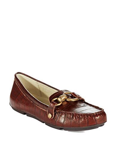 ANNE KLEINMyles Crocodile Loafers