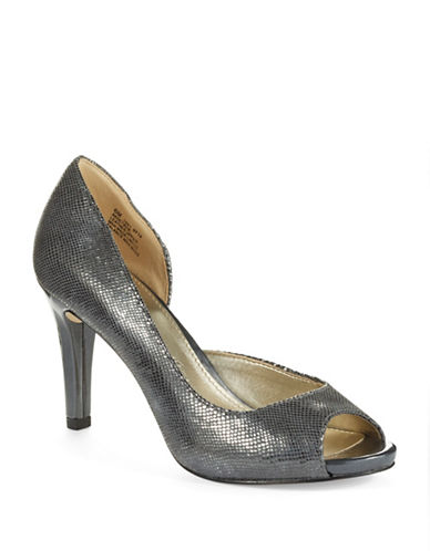 ANNE KLEIN Octavie Peep Toe Pumps