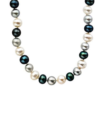 LORD & TAYLORSterling Silver Multi-Color Pearl Necklace