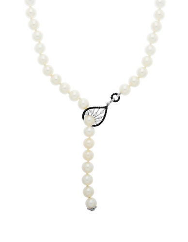 LORD & TAYLORSterling Silver Pearl and Diamond Necklace