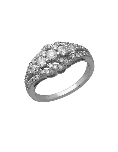 LORD & TAYLOR14 Kt. White Gold Diamond Ring