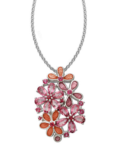LORD & TAYLORSterling Silver Rose Topaz Pendant
