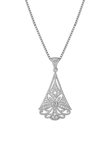 LORD & TAYLORSterling Silver & Diamond Pendant Necklace