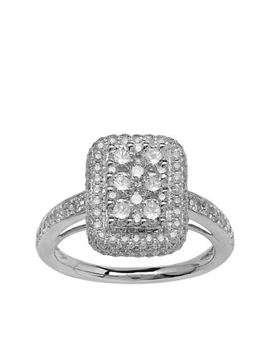 LORD & TAYLOR14 Kt. White Gold & Diamond Ring