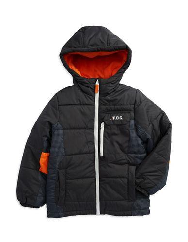 LONDON FOGBoys 8-20 Hooded Jacket