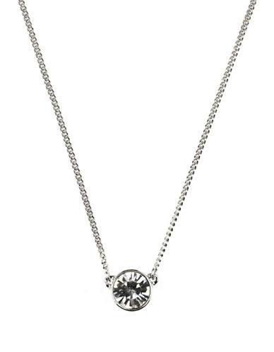 GIVENCHYSingle Crystal Stone Necklace