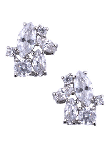 GIVENCHYCrystal Cluster Stud Earrings