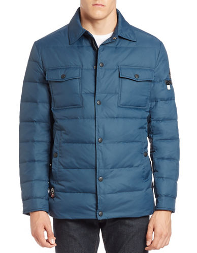 Vry Warm Quilted Shirt Jacket