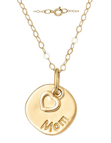 14 Kt. Yellow Gold Layered Charm Necklace