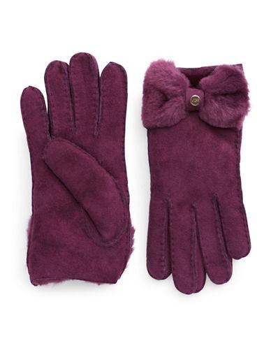 UGG AUSTRALIAShearling Bow Gloves