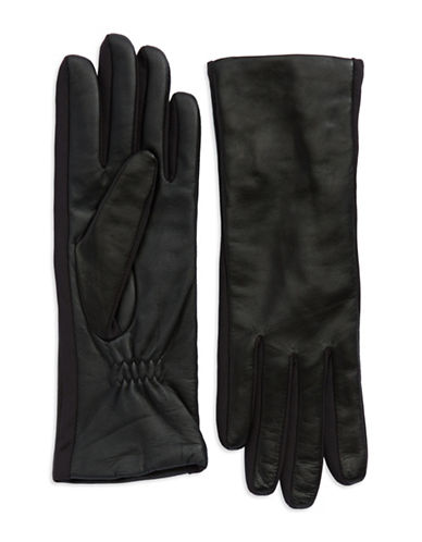 Ur Connected Leather Tech Gloves