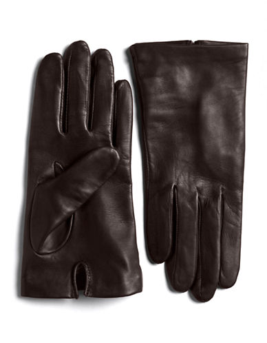 LORD & TAYLORSilk Lined Leather Gloves