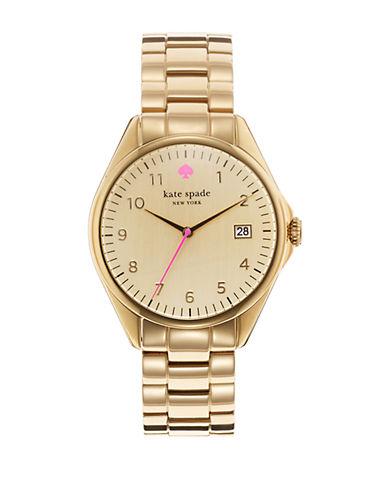 KATE SPADE NEW YORKLadies Seaport Grand Goldtone Watch