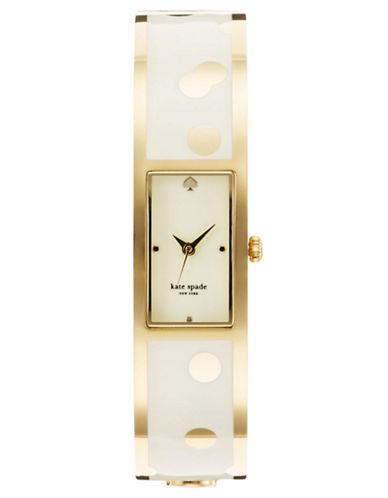 KATE SPADE NEW YORKLadies Cream Carousel Bangle Watch