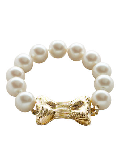 KATE SPADE NEW YORK All Wrapped Up Pearls Bracelet