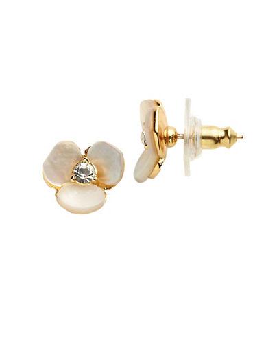 KATE SPADE NEW YORKDisco Pansy Stud Earrings