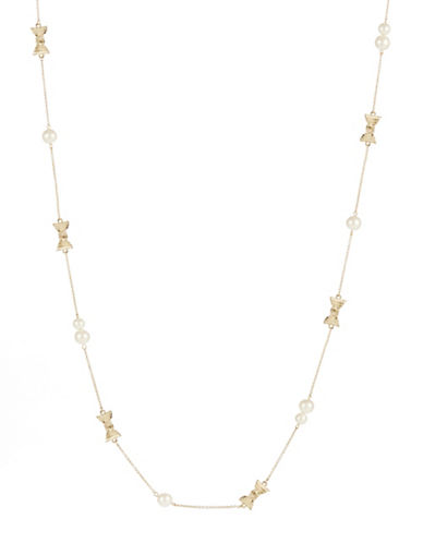 KATE SPADE NEW YORK All Wrapped Up Scatter Necklace