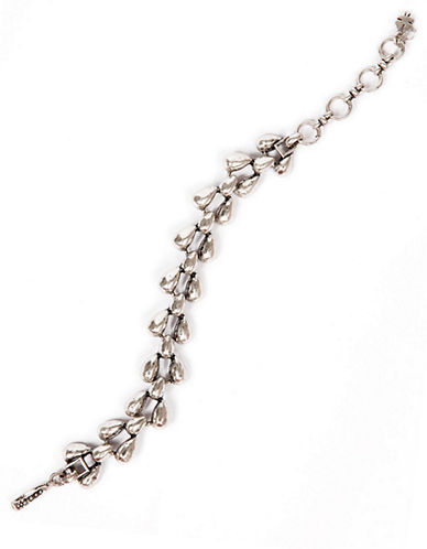 Silvertone Vintage Link Bracelet