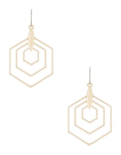 KENSIEHexagon Drop Earrings