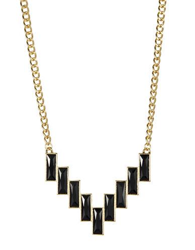 KENSIEBaguette Collar Necklace