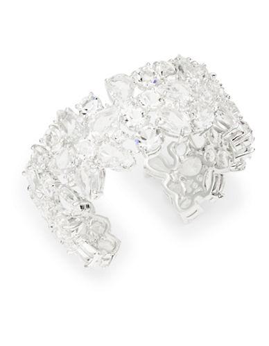 KATE SPADE NEW YORKBoathouse Crystal Cuff Bracelet