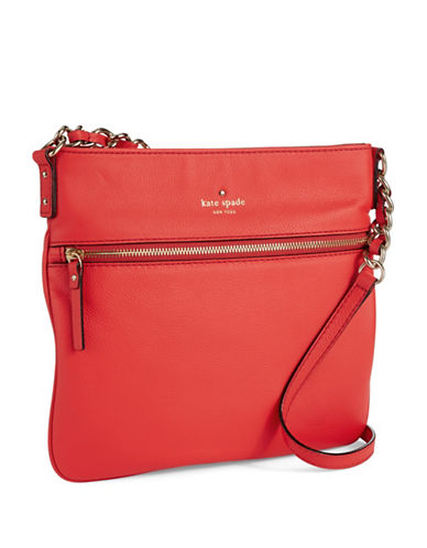 KATE SPADE NEW YORKEllen Leather Crossbody Bag