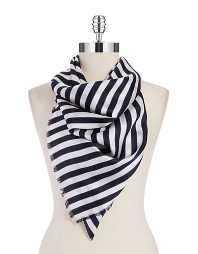 Kate Spade New York Planetary Stripe Silk Scarf