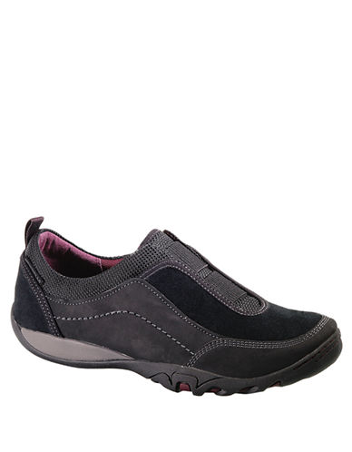 MERRELLMimosa Cheer Leather and Mesh Sneakers