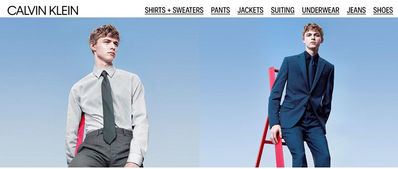 Calvin Klein Men Clothing Suits Suit Separates Blazers