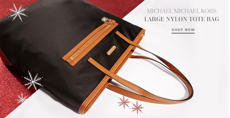Michael Michael Kors Large Nylon Tote Bag