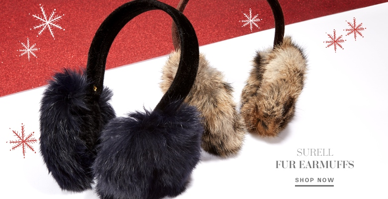 Surell Fur Ear Muffs