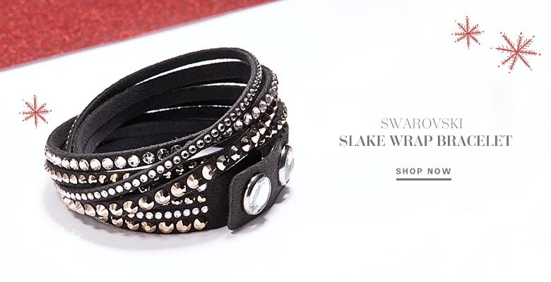 Swarovski Slake Wrap Bracelet