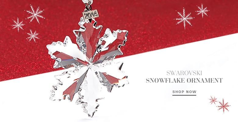 Swarovski Snowflake Ornament