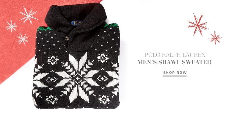 Polo Ralph Lauren Shawl Sweater