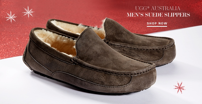 UGG® Australia Men's Suede Slippers