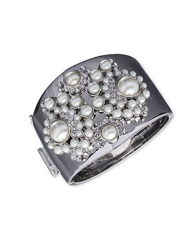 GIVENCHYFaux Pearl Cuff Bracelet