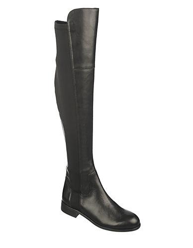 FRANCO SARTOMotor Leather Knee-High Boots