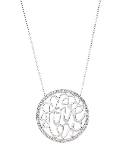LORD & TAYLORSterling Silver Love Pendant Necklace
