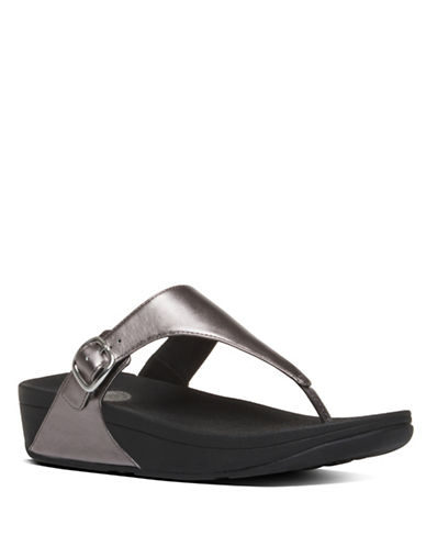 Buy The Skinny Leather Thong Sandals by Fitflop online