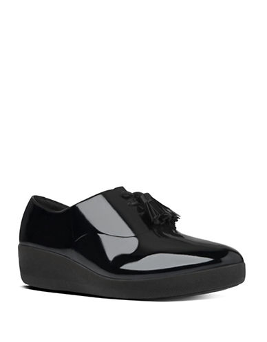 Buy Classic Tassel TM Patent Leather Superoxfords by Fitflop online