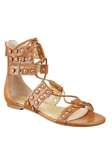 Buy Cathy Leather Lace-Up Gladiator Sandals by Ivanka Trump online