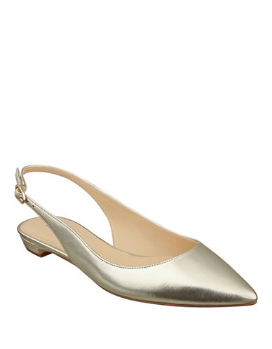 Buy Tamine Sheep Leather Slingbacks by Ivanka Trump online