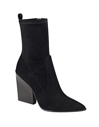 Buy Felicia Zipped Suede Ankle Boots by Kendall + Kylie online