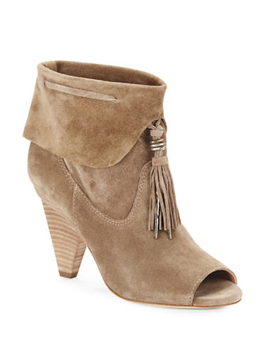 Buy Faro Suede Tassel Ankle Boot by Sigerson Morrison online