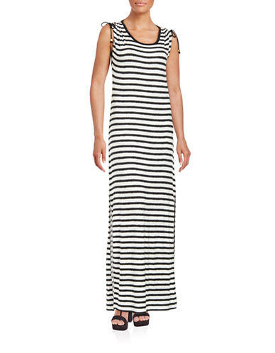 Plus Striped Maxi Dress plus size,  plus size fashion plus size appare
